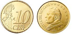 Vaticaan 10 Cent
