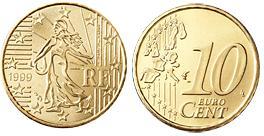 Frankrijk 10 Cent