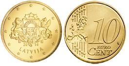 Letland 10 Cent