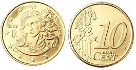 Italie 10 Cent