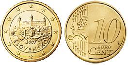 Slowakije 10 Cent