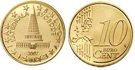 Slovenie 10 Cent