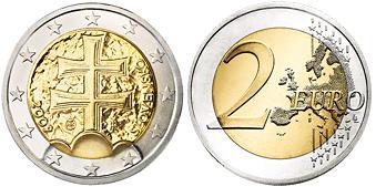Slowakije 2 Euro