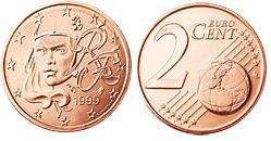 Frankrijk 2 Cent
