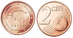 Estland 2 Cent
