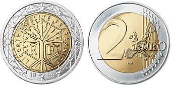 Frankrijk 2 Euro