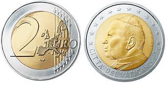 Vaticaan 2 Euro