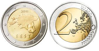 Estland 2 Euro