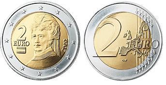 Oostenrijk 2 Euro