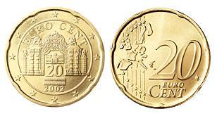 Oostenrijk 20 Cent