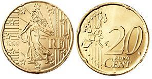 Frankrijk 20 Cent