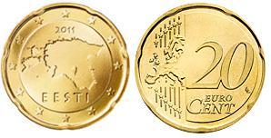Estland 20 Cent