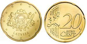 Letland 20 Cent