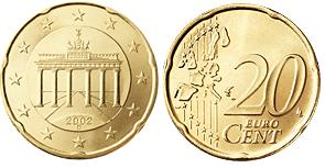 Duitsland 20 Cent