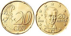 Griekenland 20 Cent