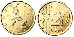 Italie 20 Cent