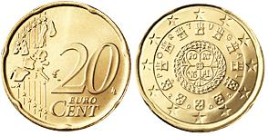 Portugal 20 Cent