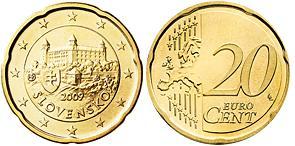 Slowakije 20 Cent