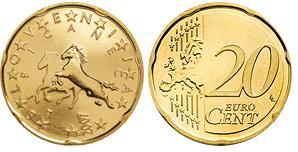 Slovenie 20 Cent