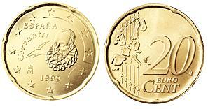 Spanje 20 Cent