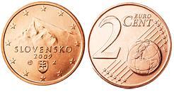 Slowakije 2 Cent