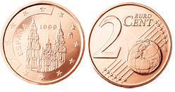 Spanje 2 Cent