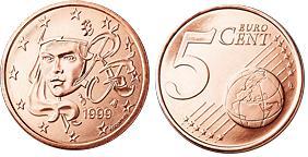 Frankrijk 5 Cent