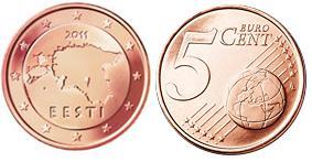 Estland 5 Cent