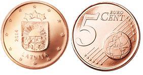 Letland 5 Cent