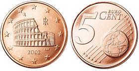 Italie 5 Cent