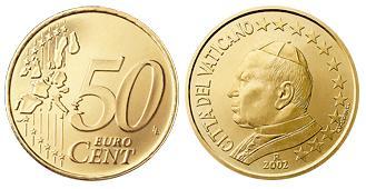 Vaticaan 50 cent