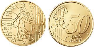 Frankrijk 50 Cent
