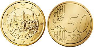 Slowakije 50 Cent