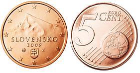 Slowakije 5 Cent