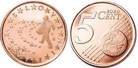Slovenie 5 Cent