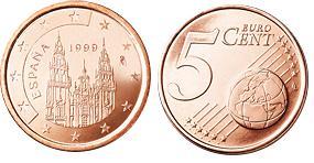 Spanje 5 Cent