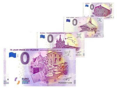 0 Euro Biljet Czech Republic