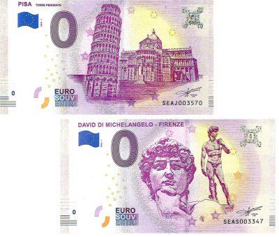 0 Euro Biljet Italy