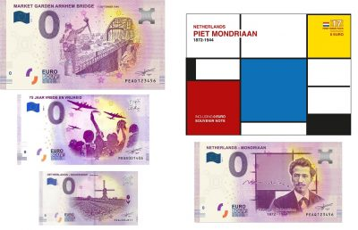 0 Euro Biljet Netherlands
