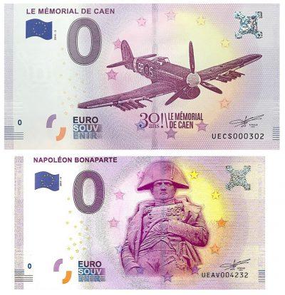 0 Euro Biljet France