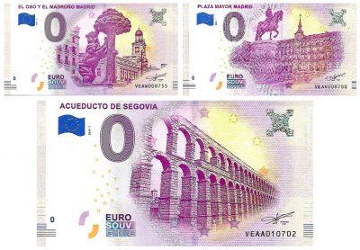 0 Euro Biljet Spain