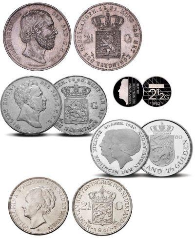 Nederland 2½ Gulden