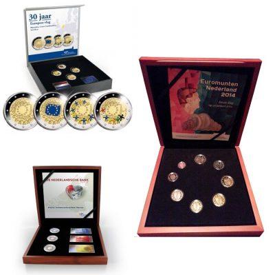Speciale 2 Euromunten Nederland Combi / Color Sets