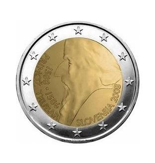 Speciale 2 Euromunten Slovenie Proof