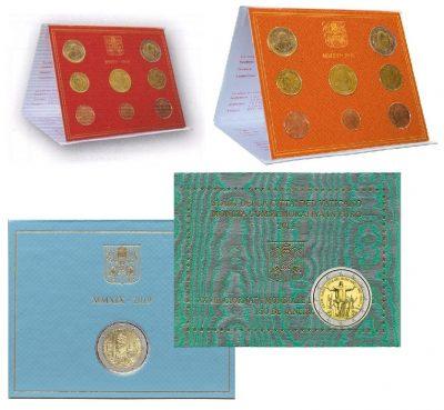Speciale 2 Euromunten Vaticaan Blister