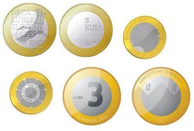 Slovenie 3 Euro