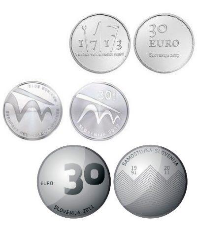 Slovenie 30 Euro