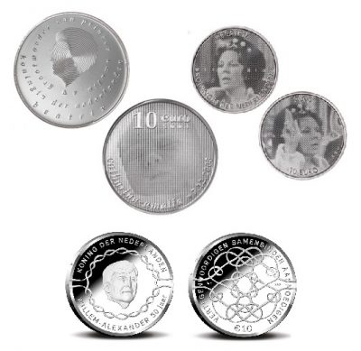 Nederland 10 Euro Unc