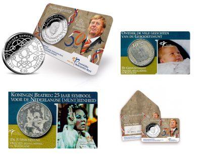 Nederland 10 Euro Coincard