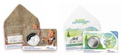 Nederland Coincards Eerste Dag